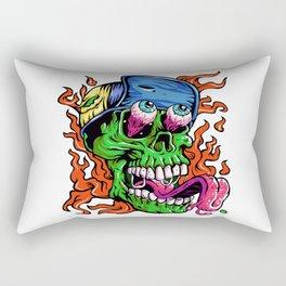 Green Zombie  Rectangular Pillow