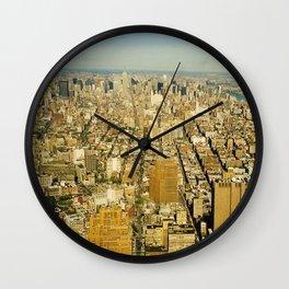 NEW YORK 4 Wall Clock