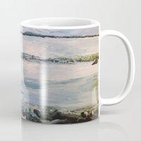 maine Mugs featuring Maine by Samantha Crepeau