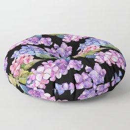 Hydrangea Pattern 05 Floor Pillow