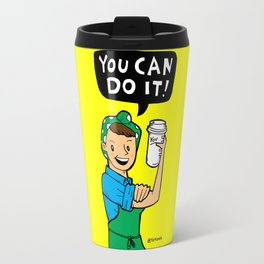 You Can Do It! Travel Mug