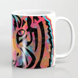 Tiger Silhouette Pattern Coffee Mug