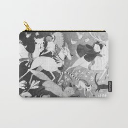 Run Along Now, and Don't Get Into Mischief! Carry-All Pouch