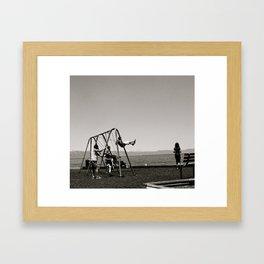 The Swing Set Framed Art Print