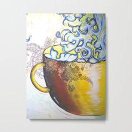 Coffee Cantina Metal Print