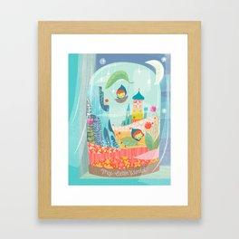 my little world Framed Art Print