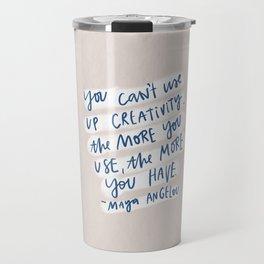 creativity quote Travel Mug