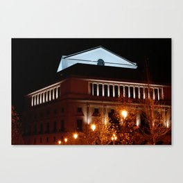"""""""El Teatro"""" Canvas Print"""