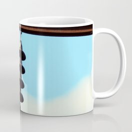 Electricity, electric power lines Coffee Mug