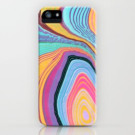 Marbled Agate iPhone Case
