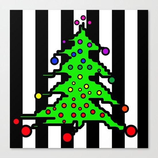 Christmas Tree | I Love Christmas Canvas Print