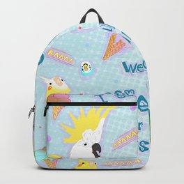we all scream for no reason Backpack