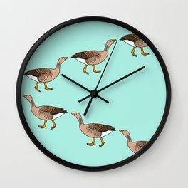 March of Geese Wall Clock