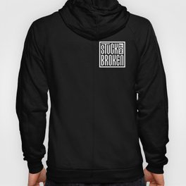Stuck Not Broken Black & White Hoody