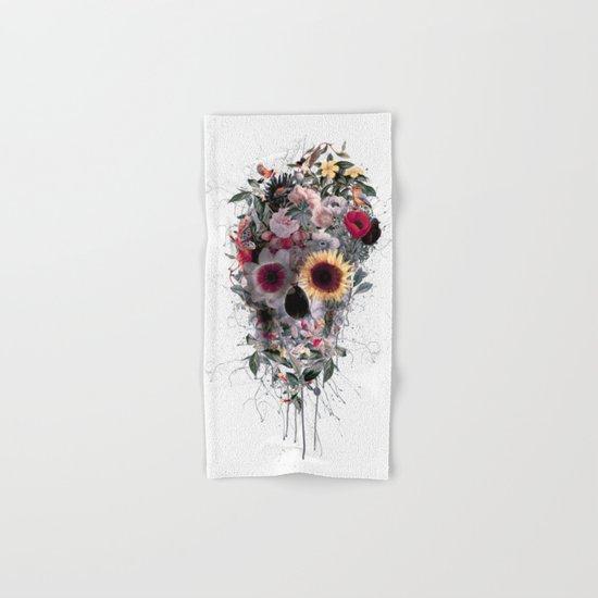 Skull Floral Hand & Bath Towel