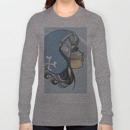 Moto Girl Long Sleeve T-shirt