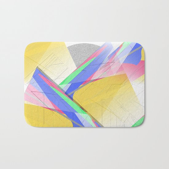 Multicolored abstract 2016 / 012 Bath Mat