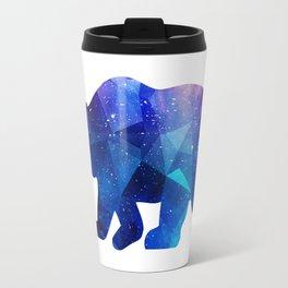 BEAR POLYGONAL SPACE Travel Mug