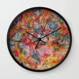 Homemade Ecstasy Wall Clock