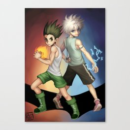 Hunter x Hunter Canvas Print