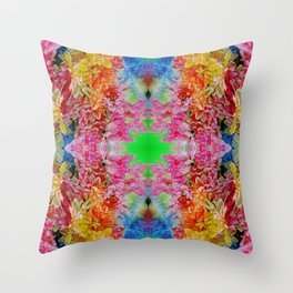 easter colors (for claire) Throw Pillow