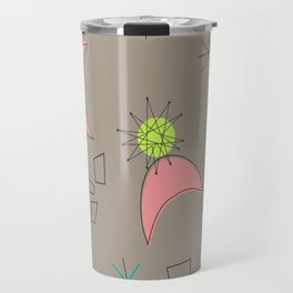 Boomerangs and Starbursts Travel Mug