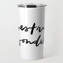 Awestruck Wonder Travel Mug