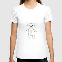teddy bear T-shirts featuring Teddy Bear by Georgian-Sorin Maxim