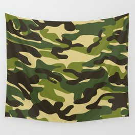 Fashion Military Camouflage Pattern Wall Tapestry
