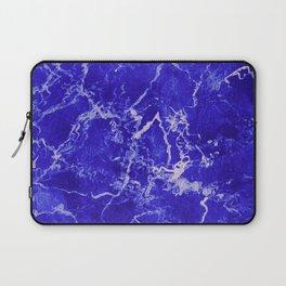 Cobalt Marble Laptop Sleeve