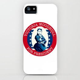Victoria Woodhull iPhone Case