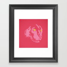 Pink Panther Framed Art Print