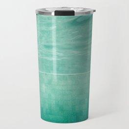 Aquatic Mosaic Travel Mug