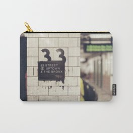 33rd Street & The Bronx Carry-All Pouch