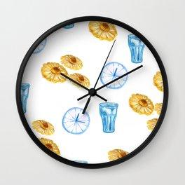 Lazy Sunday morning Wall Clock