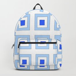 Tribute to mondrian 5- piet,geomtric,geomtrical,abstraction,de  stijl, composition. Backpack