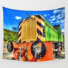 Ruston Diesel Engine Wall Tapestry