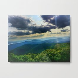 Catskill Mountains from Above Metal Print