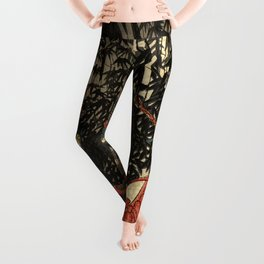 War in 1100's in Japan Leggings