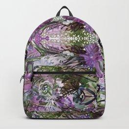 Psychedelic Positive Notes Lavender Zoom Backpack