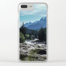 Mountains of Vancouver Island Clear iPhone Case