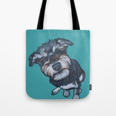 Benji the Schnoodle Tote Bag