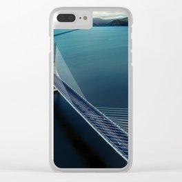 Road to Paradise Clear iPhone Case