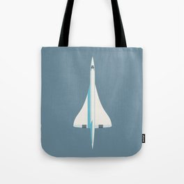 Concorde Supersonic Jet Airliner - Slate Tote Bag