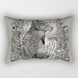 Don't Mind The Hare Rectangular Pillow