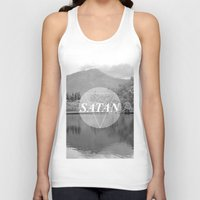 stanley kubrick Tank Tops featuring Stanley by Weltenhass