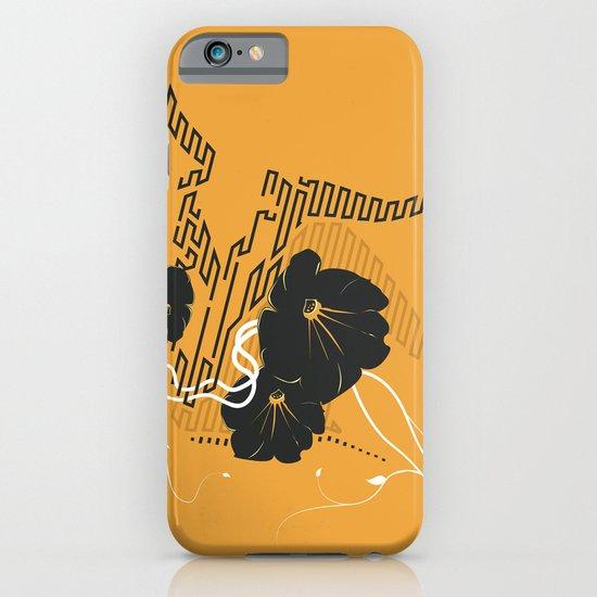 Untitled Art - Orange iPhone & iPod Case