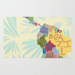 Map. Mapa. Carte. Rug
