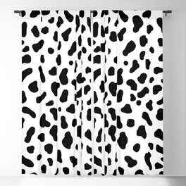 Cow Pattern Blackout Curtain