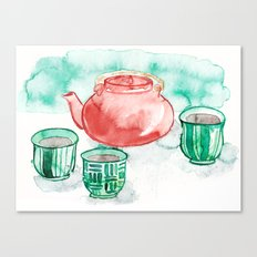Tea Time Canvas Print